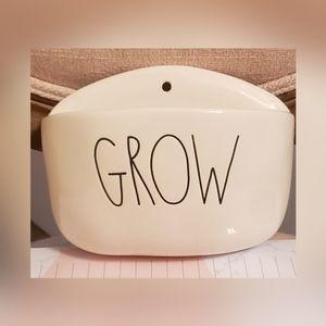 Rae Dunn GROW planter